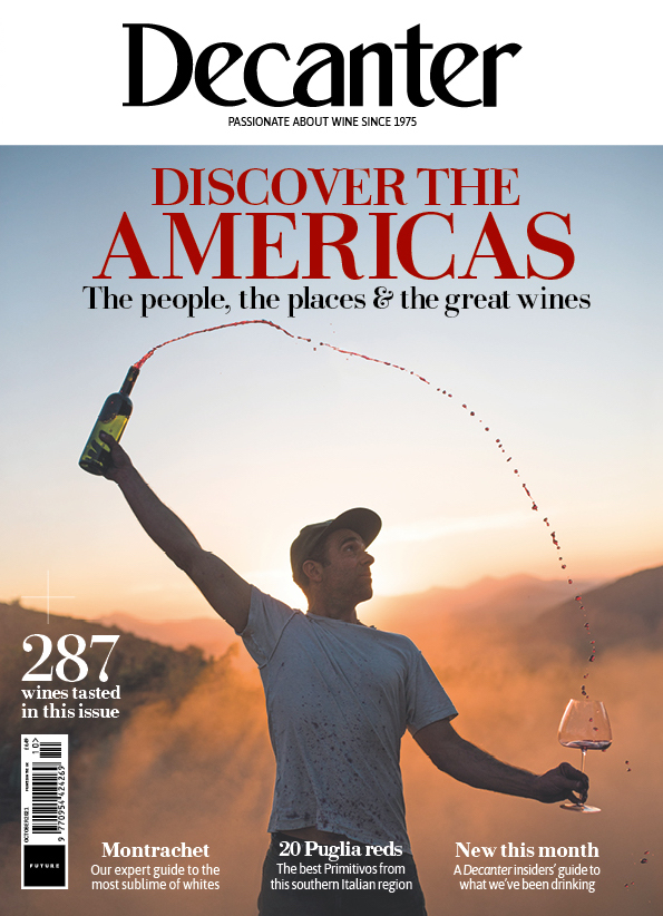 Decanter October 2021 cover