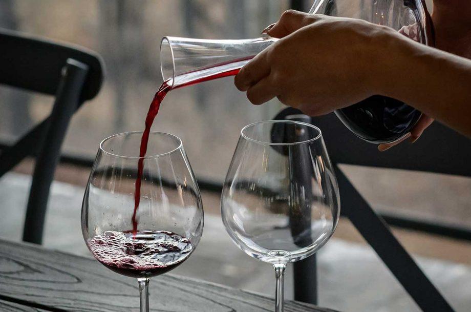 fine wine at home