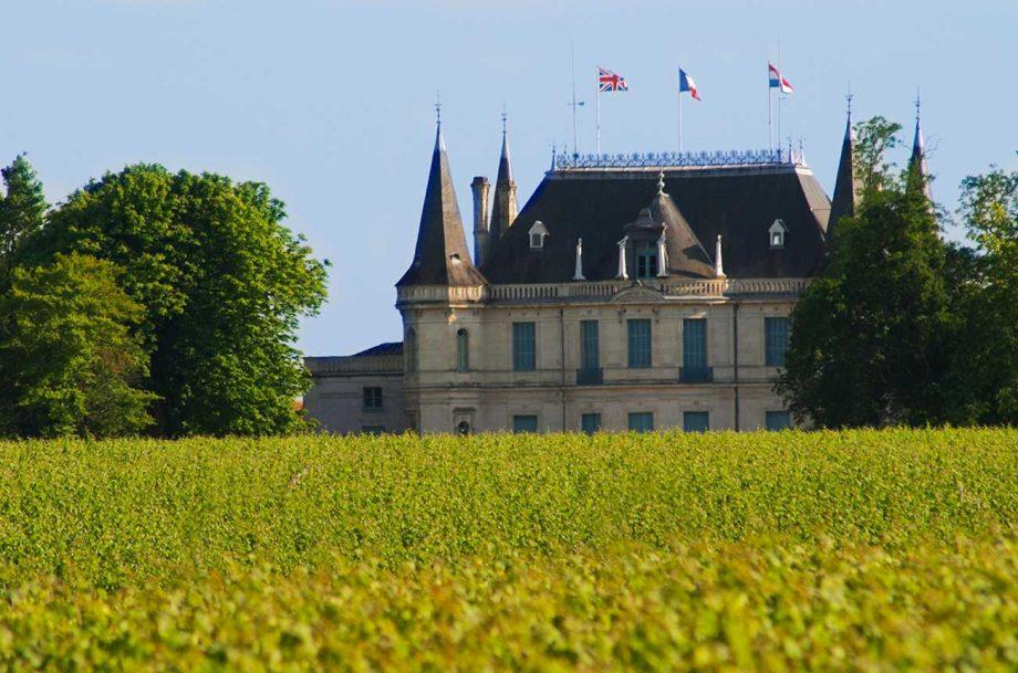 Château Palmer and its Bordeaux vineyards