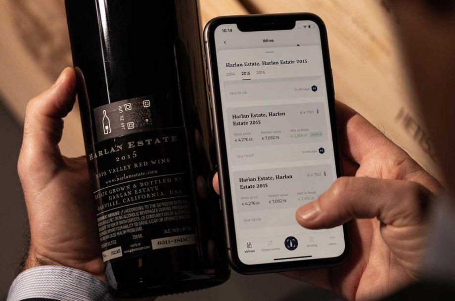 The new 1275 fine wine mobile app.