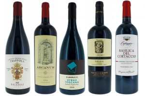Tuscan IGT wines