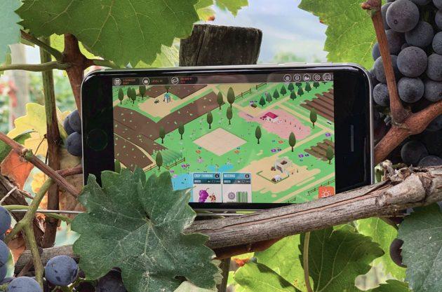 Escena del juego Hundred Days Winemaking