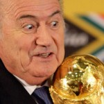 Sepp Blatter with World Cup