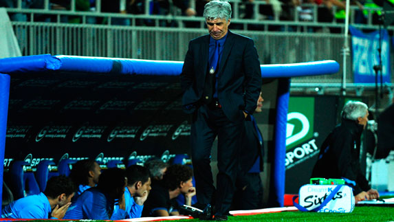 Gasperini's last game in charge at Inter
