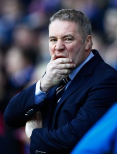 Football - Rangers v Kilmarnock Clydesdale Bank Scottish Premier League  - Ibrox Stadium - 18/2/12 Rangers manager Ally McCoist  Mandatory Credit: Action Images / Jason Cairnduff Livepic