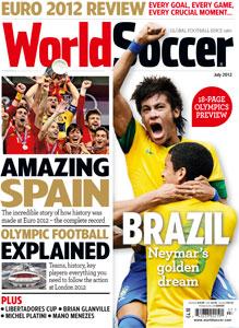 World Soccer: July 2012 - World Soccer