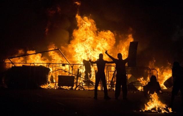 Brazil protestors
