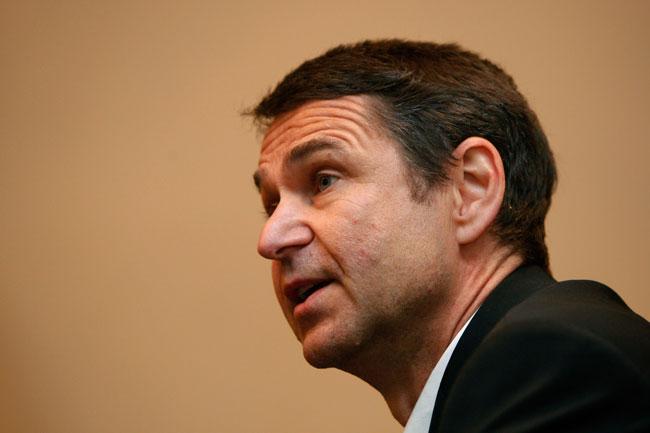 Ralf Mutschke, FIFA's security chief.