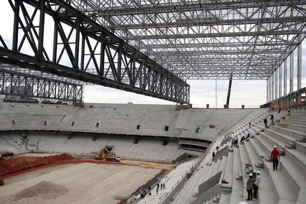 Curitiba stadium delays