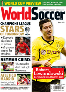 March 2014 issue of World Soccer