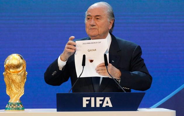Sepp Blatter Qatar