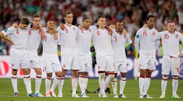 England penalty shootout defeat