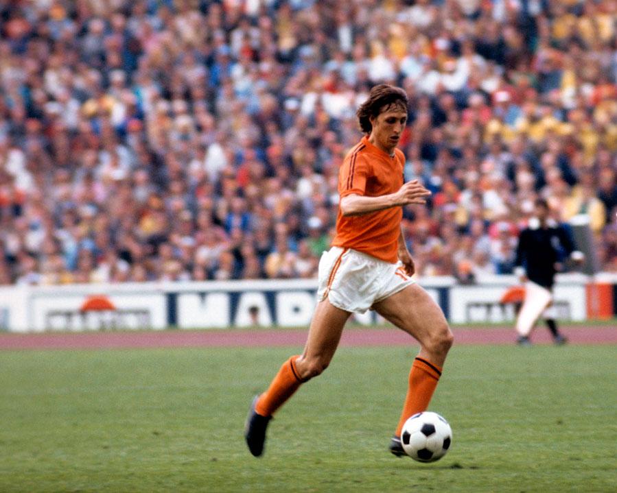 Johan Cruyff called the shots for Holland