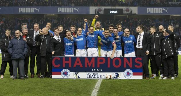 Soccer - Scottish League One - Rangers v Airdrieonians - Ibrox Stadium