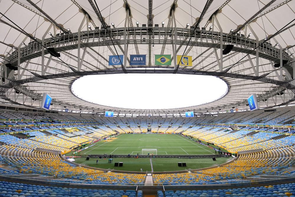 World Cup 2014 Stadiums: Estadio Do Maracana, Rio de ...