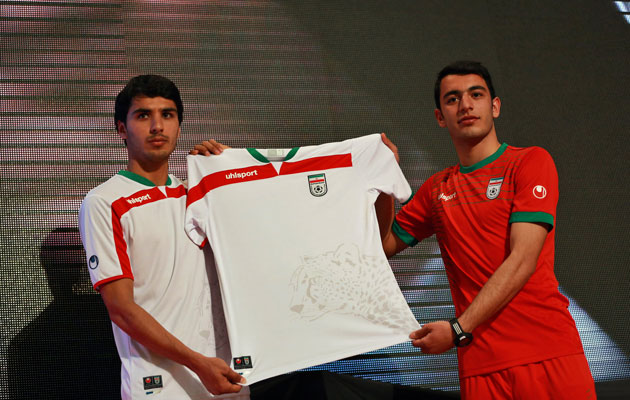 03c8cf76c Iran players told not to swap shirts as they can t afford to buy more kits.  World Soccer  May 9