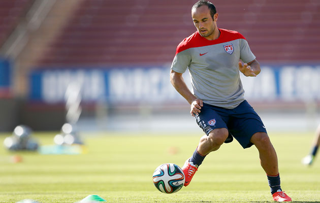 Landon Donovan a surprise omission from USA squad