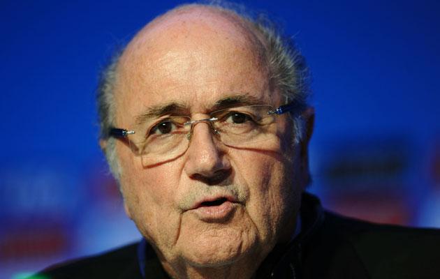 Sepp Blatter gaza palestine