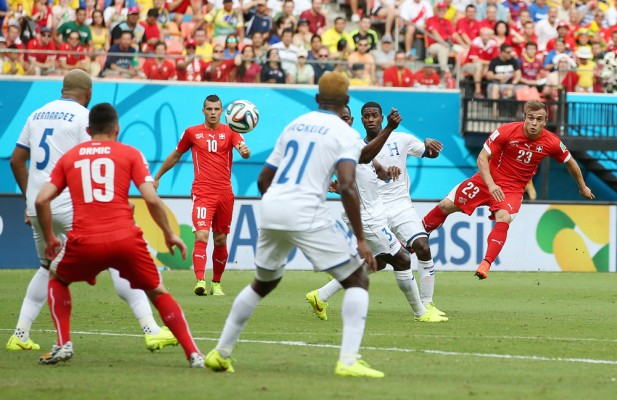 Honduras v Switzerland - FIFA World Cup Brazil 2014 - Group E