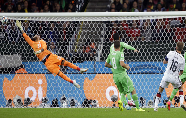 Germany and Algeria fans endure long, tense night