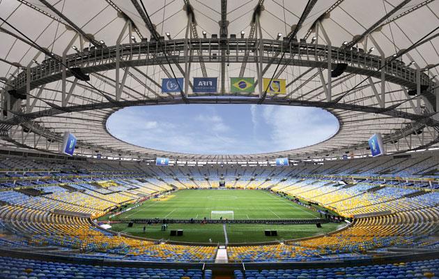 Maracana stadium Rio De Janeiro Brazil
