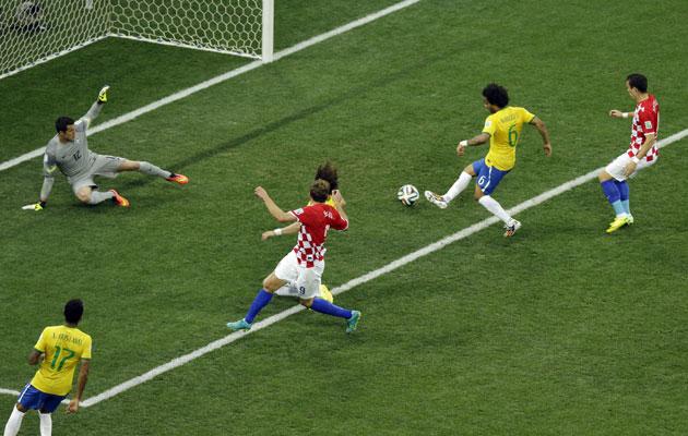 Marcelo own goal