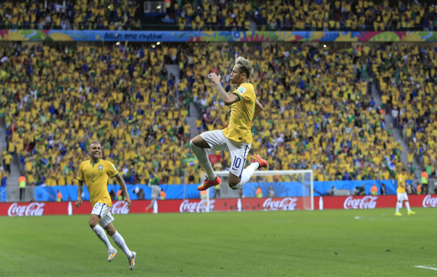 The instinctive genius of Neymar