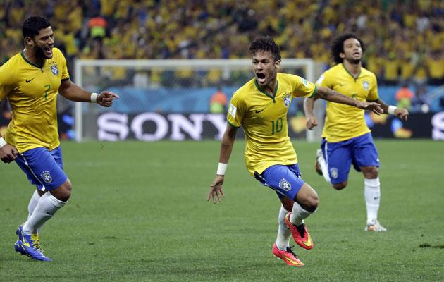 Neymar delivers