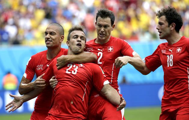 Switzerland's Xherdan Shaqiri