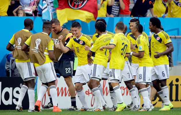 Colombia 2-1 Ivory Coast