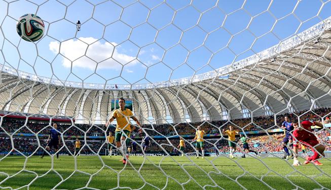 Robin Van Persie goal
