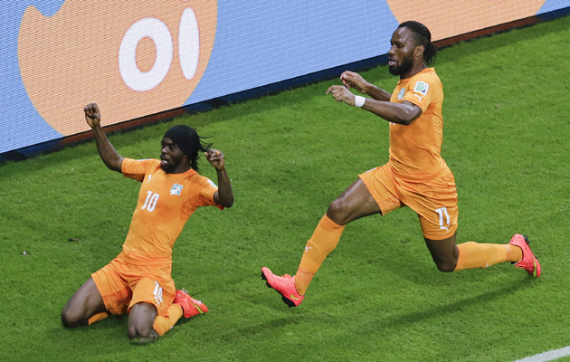 Ivory Coast Japan Gervinho