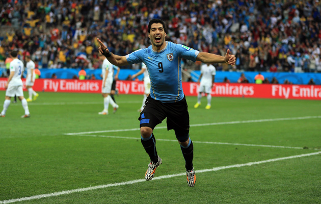 The reaction to Uruguay's win in Montevideo