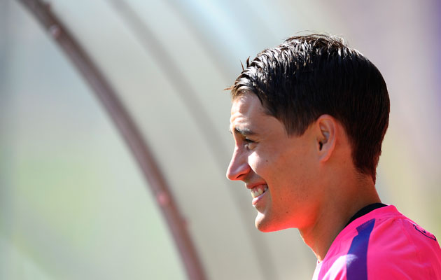 Bojan Krkic Barcelona to Stoke City