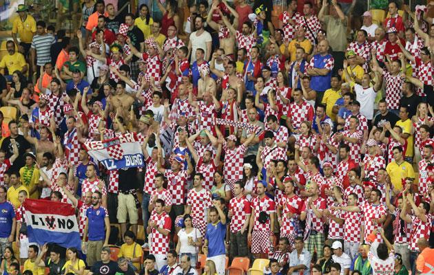 Croatia fans