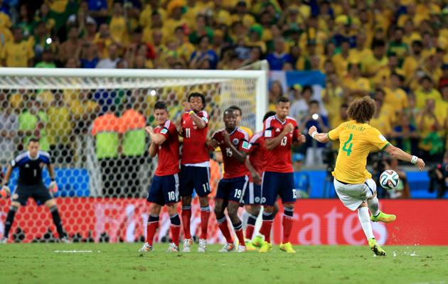 David Luiz goal