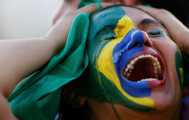 Brazil fan suffers after Germany defeat