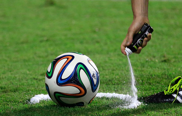 Premier League approves use of vanishing spray