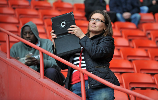 iPads and laptops are now among the items fans are prevented from bringing in to Old Trafford from next season.