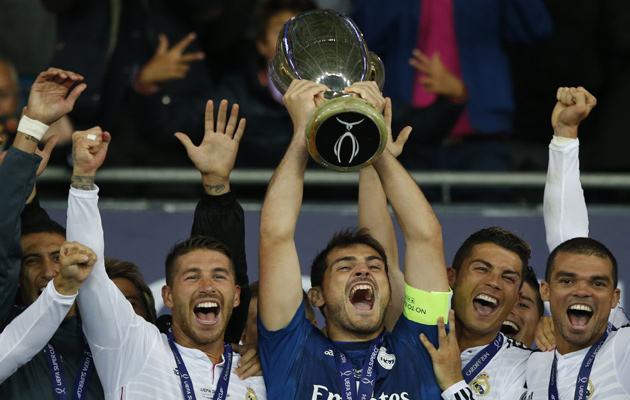 Real Madrid Super Cup win