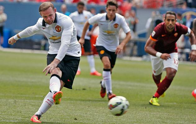 Wayne Rooney vs Roma
