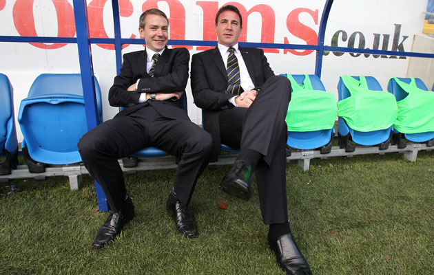 Iain Moody and Malky Mackay