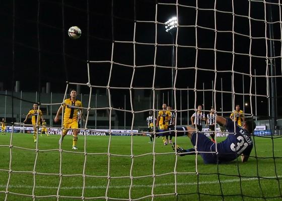 The perfect Panenka penalty. - World Soccer