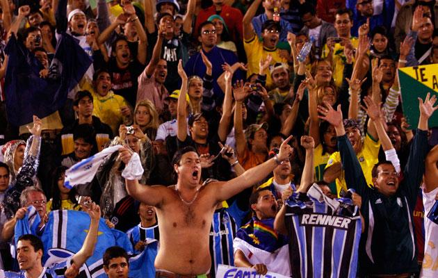 Gremio fans