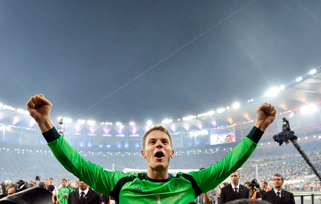 Neuer: I have to take responsibility