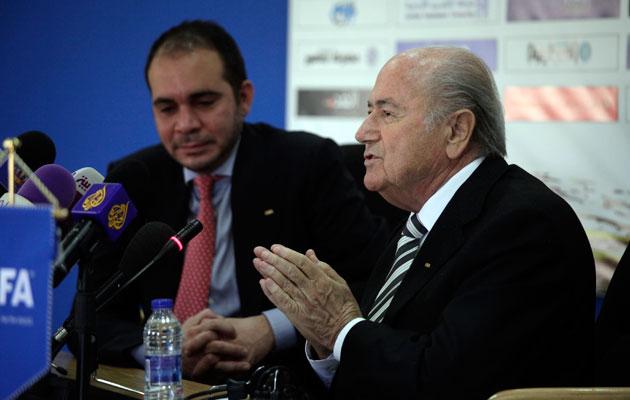 Prince Ali Sepp Blatter