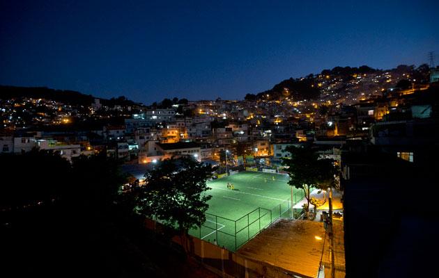 Rio floodlights