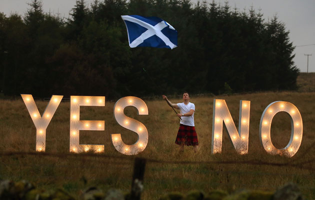 Scotland yes no