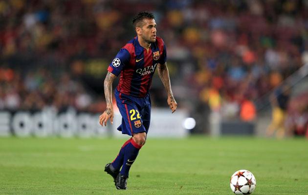 Dani Alves on his way to England