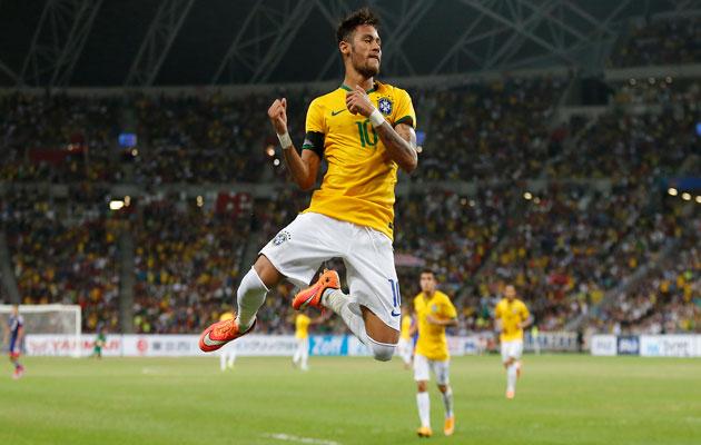 Neymar sets his sights on Olympic glory